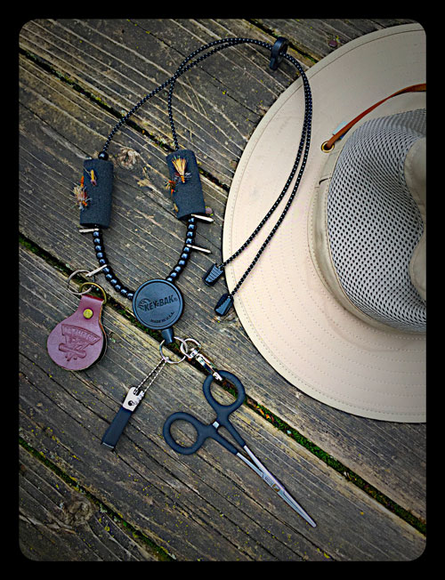 DIY Fly Fishing Lanyard