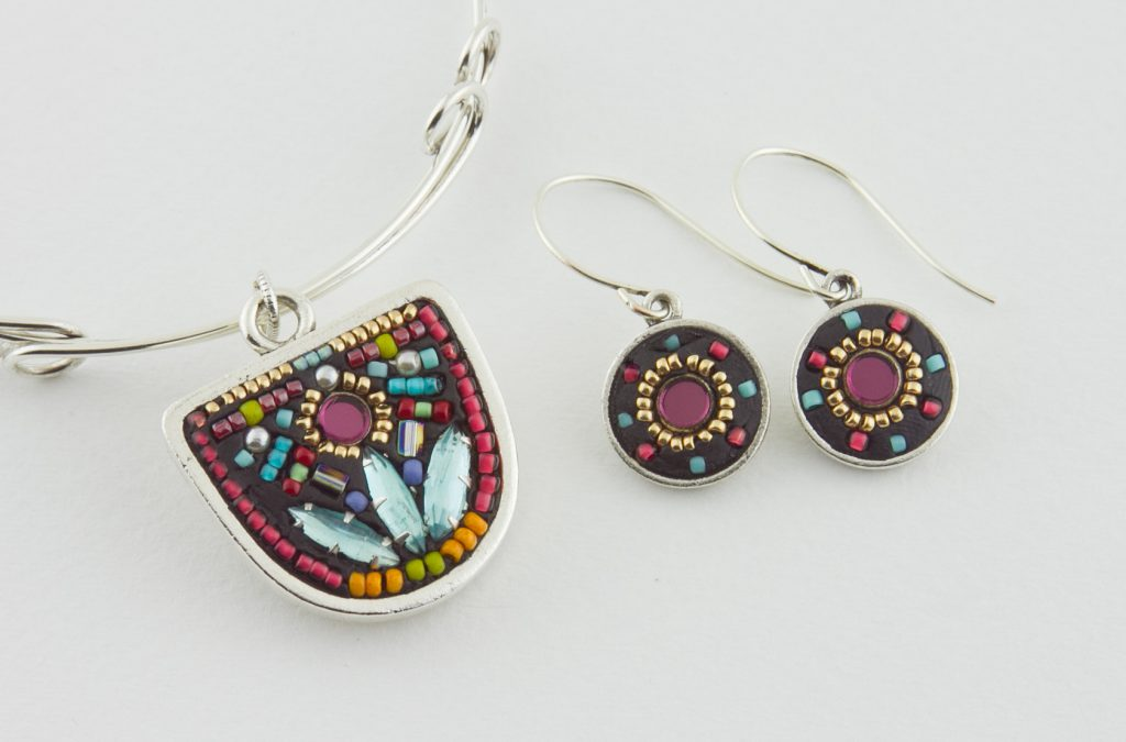 Posh Pendant and Earrings